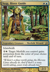 Sygg, River Guide - Foil on Channel Fireball