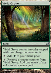 Vivid Grove - Foil on Ideal808