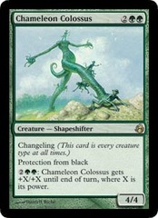 Chameleon Colossus - Foil on Channel Fireball