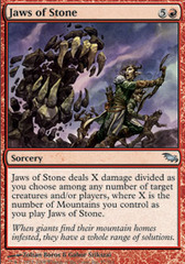 Jaws of Stone - Foil