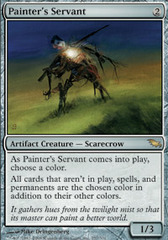 Painter's Servant - Foil on Channel Fireball