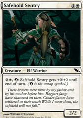 Safehold Sentry - Foil on Channel Fireball