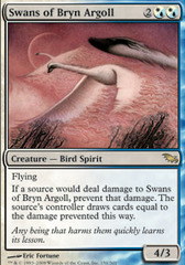 Swans of Bryn Argoll - Foil on Ideal808
