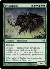 Primalcrux - Foil on Channel Fireball