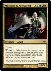 Maelstrom Archangel - Foil on Channel Fireball