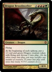 Dragon Broodmother - Foil on Channel Fireball