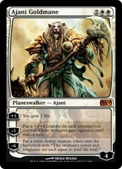 Ajani Goldmane - Foil on Ideal808