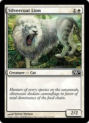 Silvercoat Lion - Foil on Ideal808