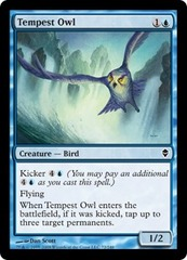 Tempest Owl - Foil on Ideal808