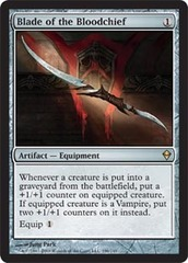 Blade of the Bloodchief - Foil on Channel Fireball