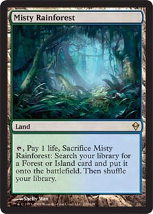 Misty Rainforest - Foil