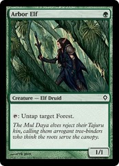 Arbor Elf - Foil on Channel Fireball