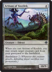 Artisan of Kozilek - Foil on Channel Fireball