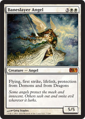 Baneslayer Angel - Foil on Channel Fireball