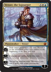 Venser, the Sojourner - Foil on Channel Fireball