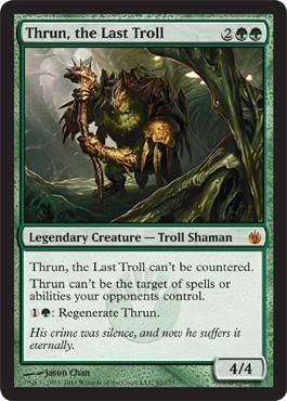 Thrun, the Last Troll - Foil