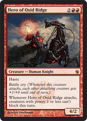 Hero of Oxid Ridge - Foil on Channel Fireball