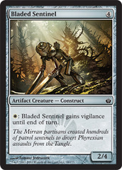 Bladed Sentinel - Foil on Channel Fireball