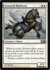 Armored Warhorse - Foil on Channel Fireball