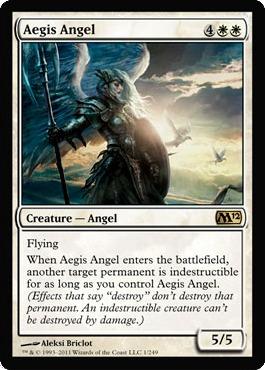 Aegis Angel - Foil
