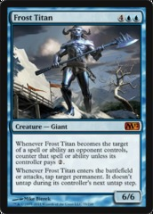 Frost Titan - Foil on Ideal808