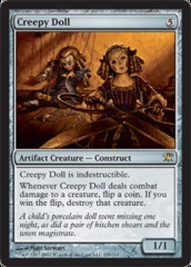 Creepy Doll - Foil