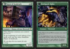 Mayor of Avabruck // Howlpack Alpha - Foil