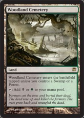 Woodland Cemetery - Foil on Channel Fireball