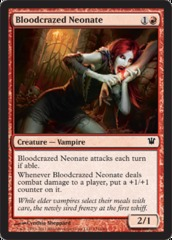 Bloodcrazed Neonate - Foil on Channel Fireball