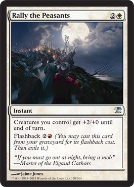 Rally the Peasants - Foil