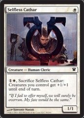 Selfless Cathar - Foil