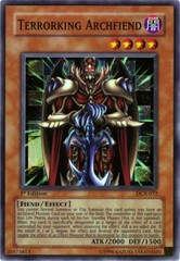 Terrorking Archfiend - DCR-072 - Super Rare - Unlimited Edition