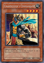 Gravekeeper's Commandant - FOTB-EN015 - Rare - Unlimited Edition