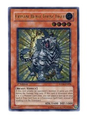 Crystal Beast Topaz Tiger - FOTB-EN004 - Ultimate Rare - Unlimited Edition