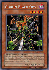 Goblin Black Ops - GLAS-EN030 - Rare - Unlimited Edition on Channel Fireball
