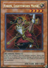 Ehren, Lightsworn Monk - LODT-EN082 - Secret Rare - Unlimited Edition