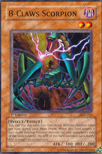 8-Claws Scorpion - PGD-024 - Common - Unlimited Edition