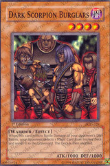 Dark Scorpion Burglars - PGD-028 - Common - Unlimited Edition