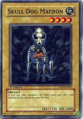 Skull Dog Marron - SOD-EN003 - Common - Unlimited Edition