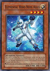 Elemental Hero Neos Alius - TAEV-EN018 - Super Rare - Unlimited Edition