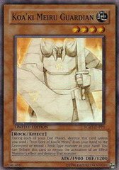 Koa'ki Meiru Guardian - RGBT-ENPP3 - Super Rare - Unlimited Edition
