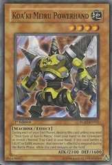 Koa'ki Meiru Powerhand - RGBT-EN022 - Super Rare - Unlimited Edition