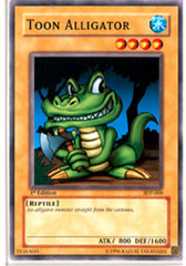 Toon Alligator - SDP-009 - Common - Unlimited Edition