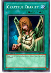 Graceful Charity - SDP-040 - Super Rare - Unlimited Edition on Channel Fireball