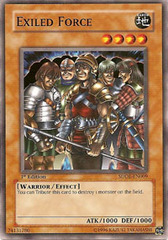 Exiled Force - SDDE-EN009 - Common - Unlimited Edition