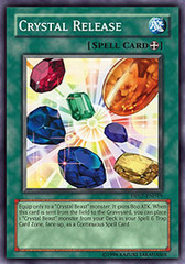 Crystal Release - DP07-EN019 - Super Rare - Unlimited Edition on Channel Fireball