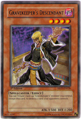 Gravekeeper's Descendant - ABPF-EN028 - Rare - Unlimited Edition