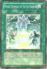 Magic Triangle of the Ice Barrier - TSHD-EN057 - Common - Unlimited Edition