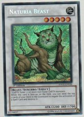 Naturia Beast - HA02-EN026 - Secret Rare - Unlimited Edition