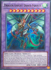 Dragon Knight Draco-Equiste - DREV-EN038 - Ultra Rare - Unlimited Edition